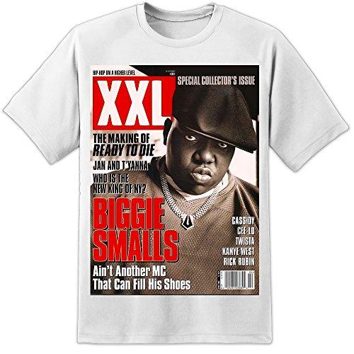 DPX-1 Biggie Smalls Hip HOP Rapper Magazine T Shirt