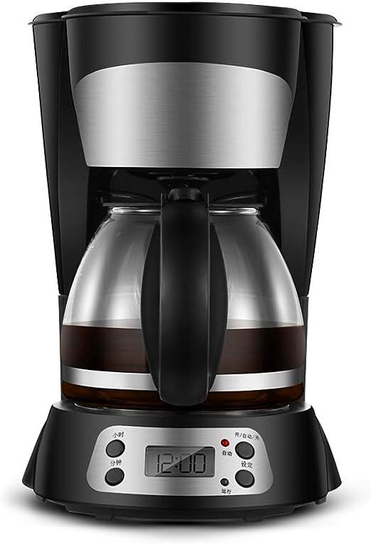 Cafetera Goteo Máquina de Café, 800W con Temporizador Cafetera de ...