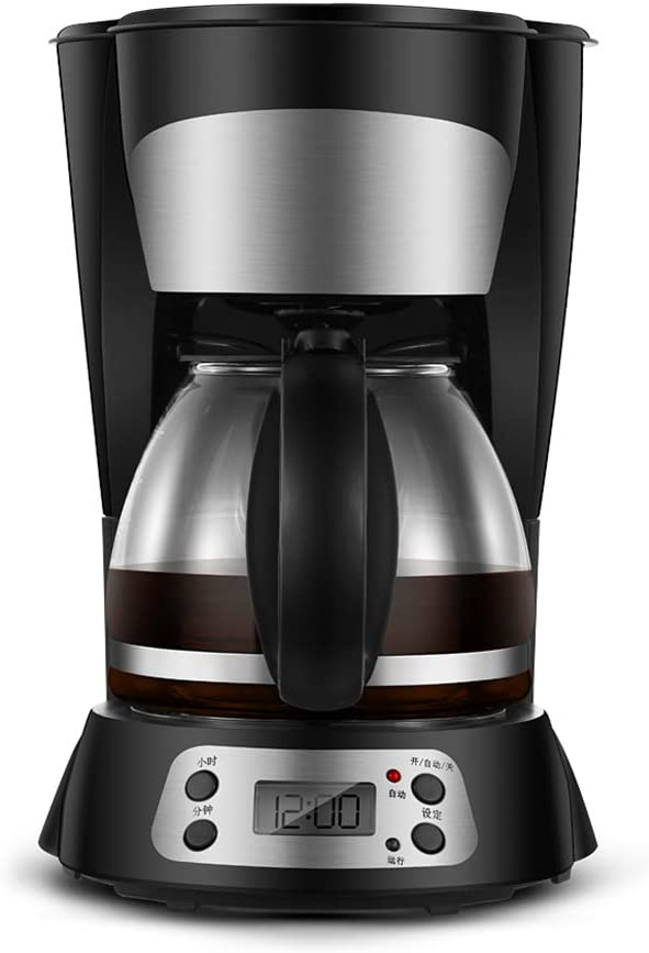 Cafetera Goteo Máquina de Café, 800W con Temporizador Cafetera de Filtro Reutilizable y Función de Mantener Caliente Jarra de 0.75 litros: Amazon.es: Hogar