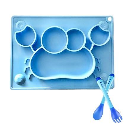 Pegcdu 3 Small Childrens Tools Plastic Baby Spoon Baby Feeding Tools Thermal Childrens Tableware
