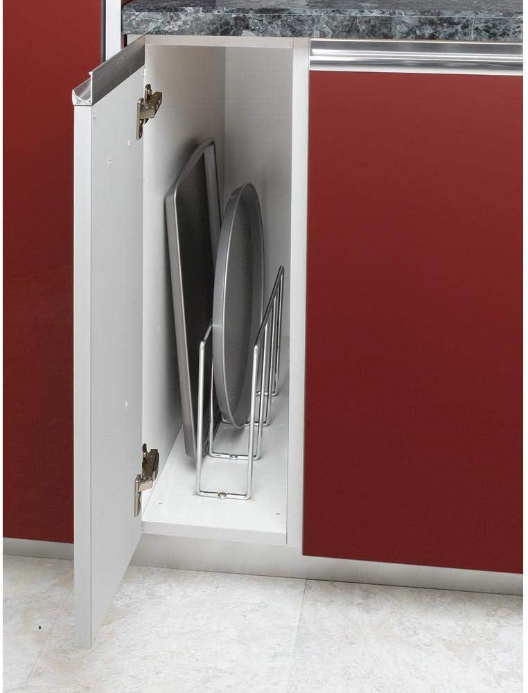 Chrome Rev-A-Shelf U-Shaped Tray Divider//Organizer for Wall or Base Cabinets
