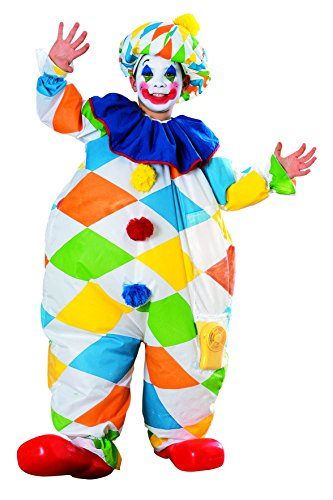 [Rubie's Costume Co Inflatable Clown Costume] (Boy Clown Costumes)