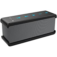 Bluetooth Speakers, Vomercy Portable Loud Outdoor Speakers Stereo Sound Speakers Black