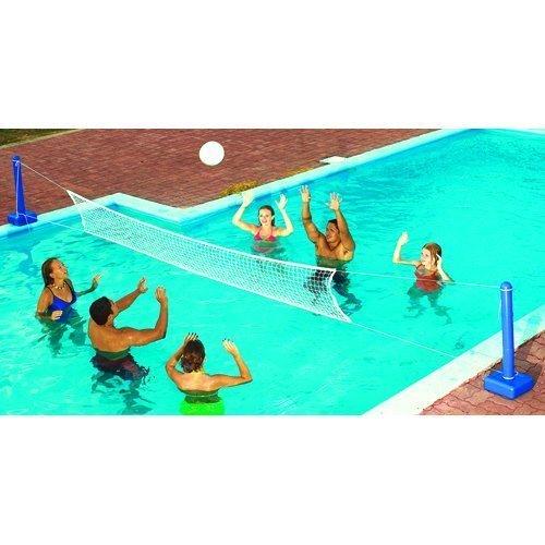 Swimline 9186SL Jammin' Inground Cross Pool Volleyball Game Model: by Swimline