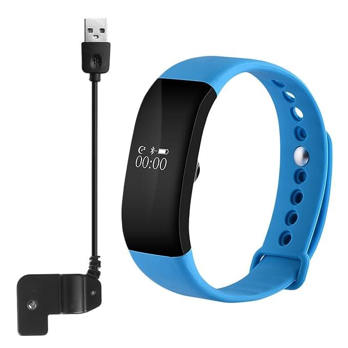 Chone V66 Bluetooth pulsera de fitness Tracker reloj pulsómetro ...