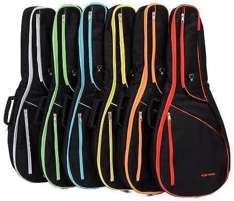 Gewa funda para guitarra clásica IP G 3/4 de color rojo: Amazon.es ...