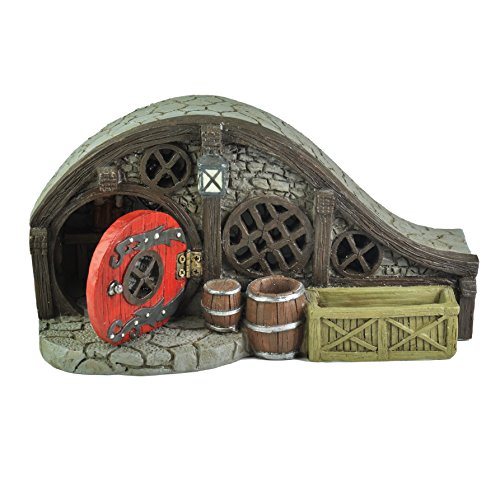 Georgetown Home & Garden Miniature Red Root Bungalow House Garden Decor Review