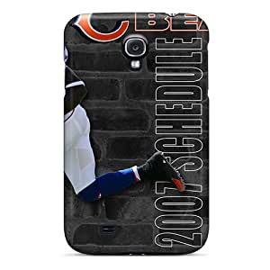 New Tpu Hard Case Premium Galaxy S4 Skin Case Cover(chicago Bears)