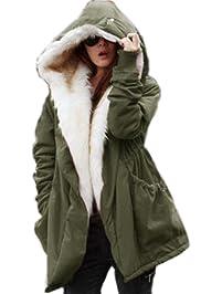 Women S Plus Down Coats Parkas Amazon Com