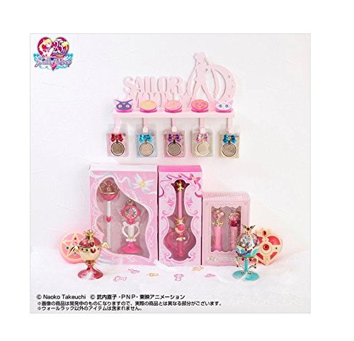 Sunstar Sailor Moon Wall Rack w/Hooks (Screw or Magnet Available for Installation) Pink
