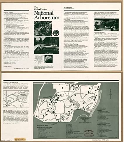 Amazon.com: 1978 Map The United States National Arboretum ... on lincoln park map, andrews air force base map, national aquarium map, dc general hospital map, national zoo map, holocaust museum map, detailed oregon road map, supreme court building map, national zoological park map, kingman island map, chicago botanic garden map, usda washington state map, historic anacostia map, national art gallery map, national cathedral map, national museum map, kenilworth aquatic gardens map, national hospital map, metropolitan branch trail map, west potomac park map,