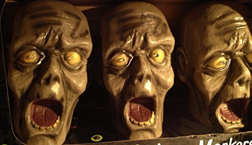 Zombie 3-pack Pathway Markers ~ Sounds and Lights