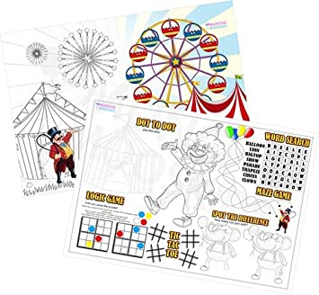 10pk SUPERHERO FUN BOOKs Activity kids Party Bag Filler toy crosswords maze