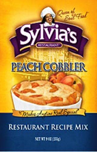 SYLVIAS Mix Cobbler Peach, 9 oz