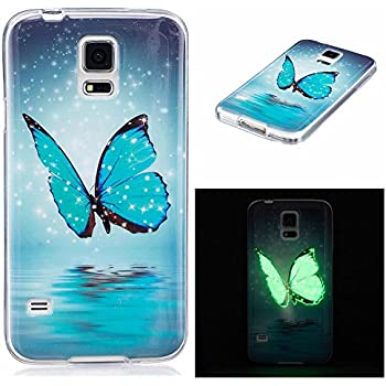 Amazon.com: Galaxy S5 Case w/[Screen Protector Premium Clear ...