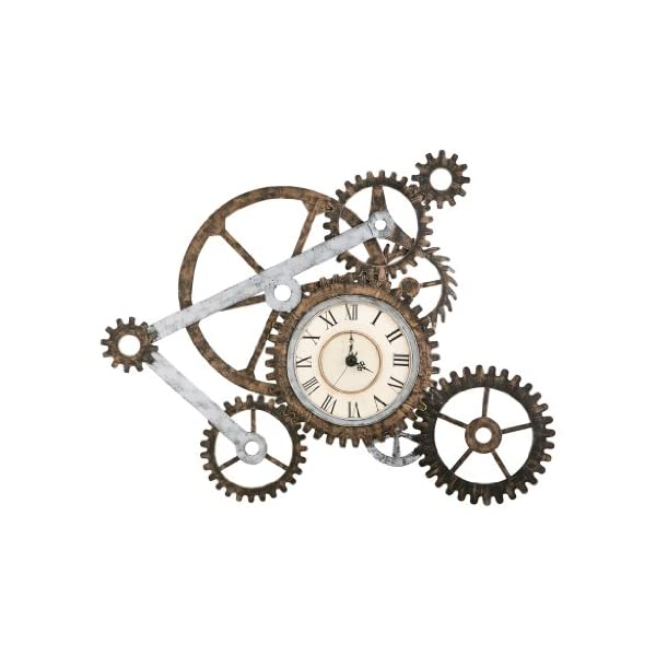 Steampunk Wall Art with Clock 4