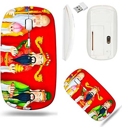 - Liili Wireless Mouse White Base Travel 2.4G Wireless Mice with USB Receiver, Click with 1000 DPI for notebook, pc, laptop, computer, mac book the gods of blessings prosperity and longevity Photo 19431