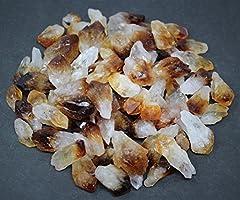 Citrine 16 oz Smokey Quartz Crystal Points 1 lb Lot Bulk Mixed Amethyst
