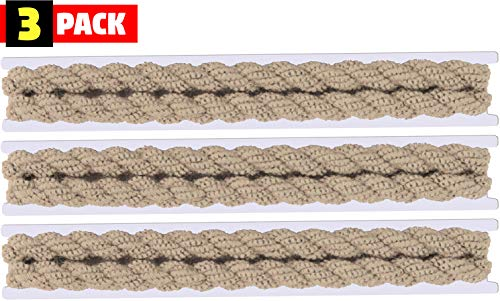 3 PACK - Military Blousing Garters Elastic Stretchy Boot Bands - 2 Piece Set (Tan)