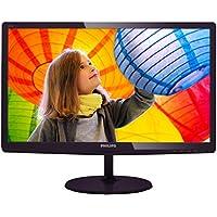 PHILIPS 227E6LDSD 22-Inch Class LED-Lit Monitor, 16:9 Aspect Ratio, Full HD 1920 x1080 Resolution, 1ms, 20M:1 DCR, 250cd/m2 Brightness, VGA / DVI  / HDMI w/ MHL