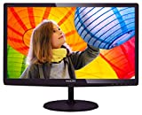 Full HD Monitor - PHILIPS 227E6LDSD 22-Inch Class LED-Lit Monitor, 16:9 Aspect Ratio, Full HD 1920 x1080 Resolution, 1ms, 20M:1 DCR, 250cd/m2 Brightness, VGA / DVI  / HDMI w/ MHL