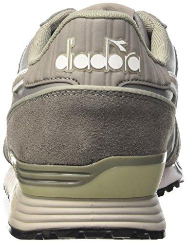Diadora Heren Titan Leder L / S Loopschoen Asgrijs