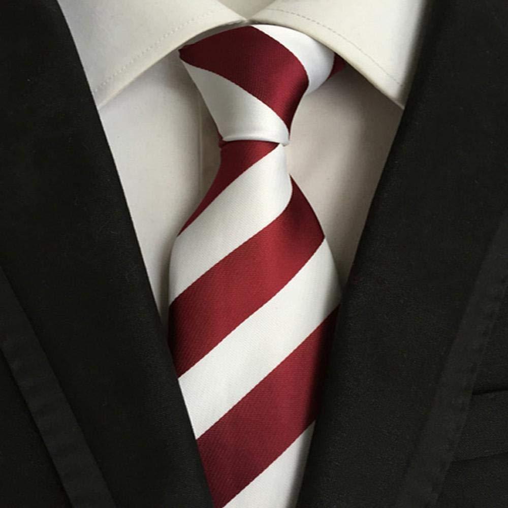 ZHAOSHUNAN Tie cravatta Corbata para Hombres Conjunto De Seda 100 ...