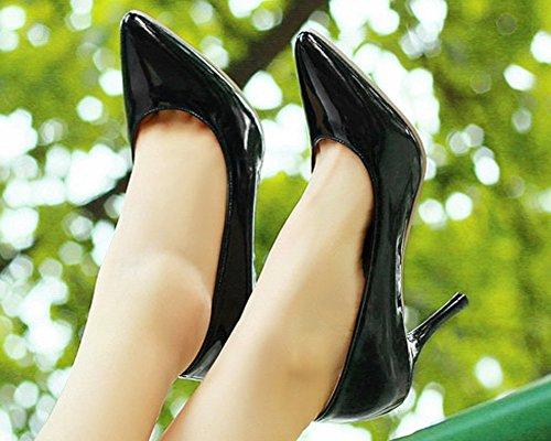 Sandales HiTime Femme Sandales Noir HiTime Compensées wfOqx0EB