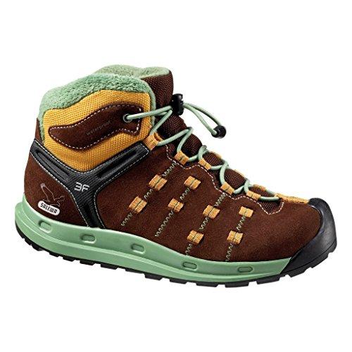 SALEWA Capsico - Zapatillas de senderismo Unisex niños Braun (7931_Chocolate/Pistache)