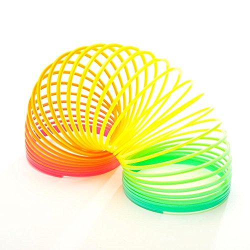 Plastic Rainbow Spring 2 Pack