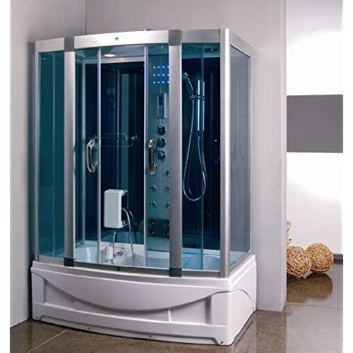 Exceptionnel Steam Shower Room With Deep Whirlpool Tub.Heater (1500W).9004