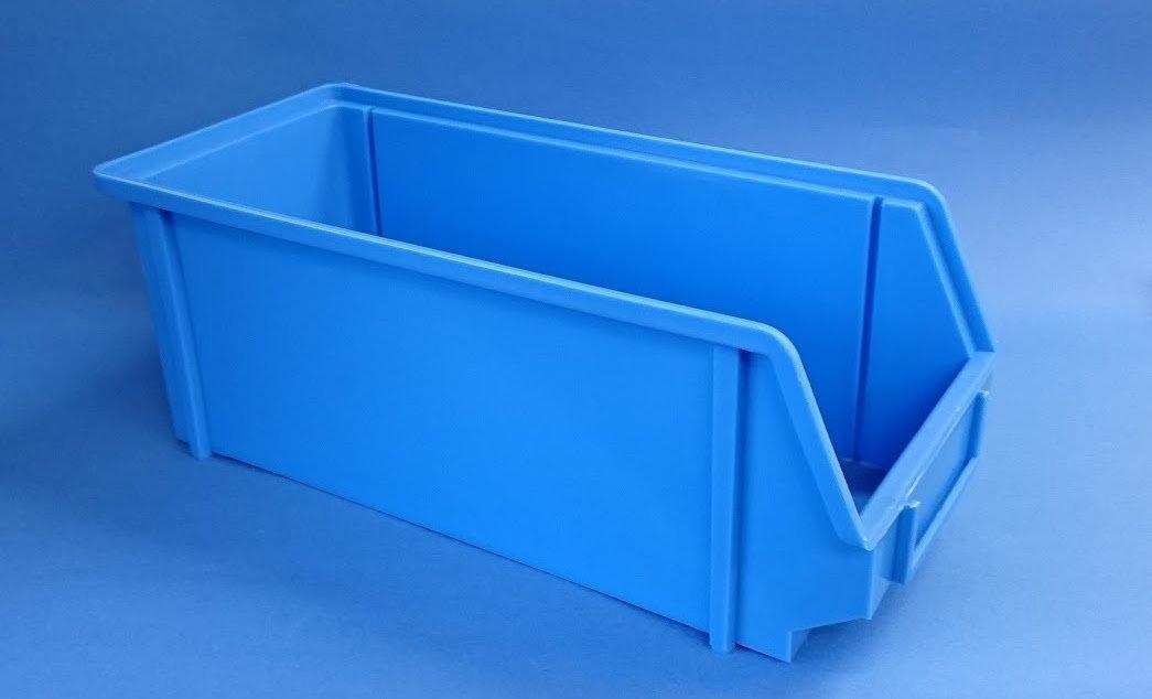 パーツボックス KB‐3B ブルー(20個セット) B00TYF5GO2