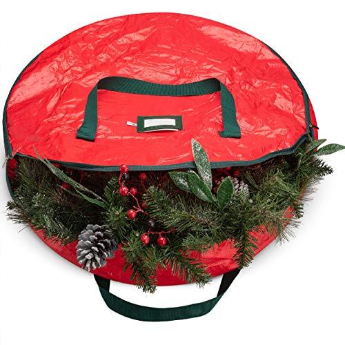 Christmas Wreath Storage Bag - Zober Christmas Wreath Storage Bag 36