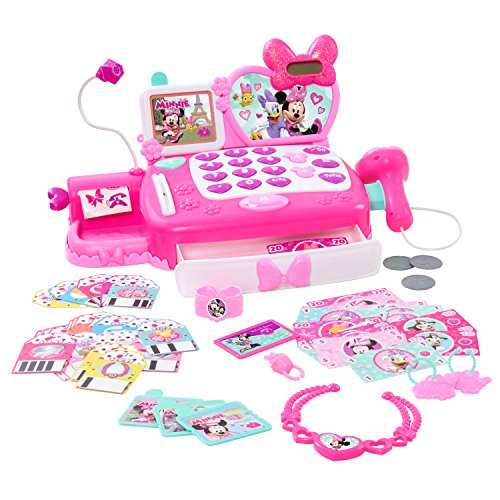 Minnie 89496 Happy Helpers Deluxe Cash Register Toy, Multicolor