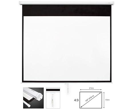 Fonestar PPMA-43120-BA - Pantalla de proyección manual ...