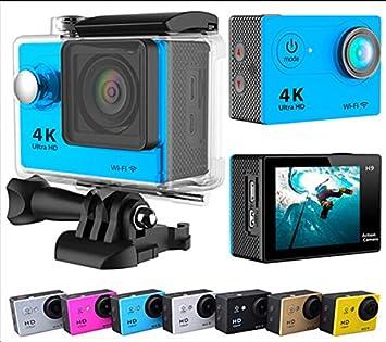 Eken H9 - Cámara de acción UltraHD 4K WiFi, impermeable a 30 ...
