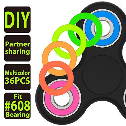 Fidget Spinner Multicolor Plastic Bearing product image