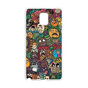 Creative Cartoon Hot Seller Stylish Hard Case For Samsung Galaxy Note4