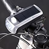 Ecosin Fashion Charge The New 4 LED Bike Solar Headlamp + Speaker