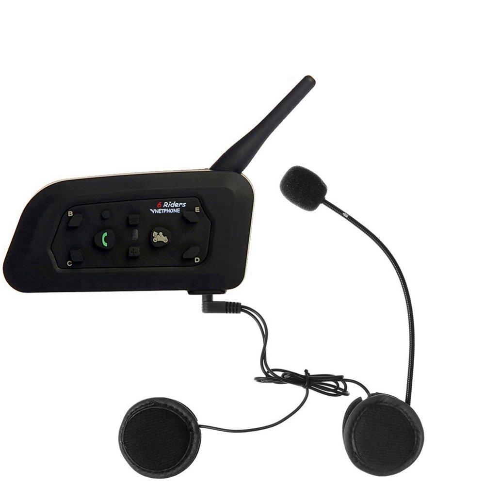Hidream®EJEAS V6 Bluetooth Helmet Interphone 1200M Waterproof 2 People Communication GL