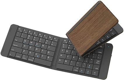 Zacheril Teclados Plegable inalámbrica Bluetooth portátil ...
