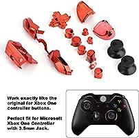 fosa mando botones Xbox One Kit de botones Piezas de recambio para Xbox One Controlador: Amazon.es: Electrónica