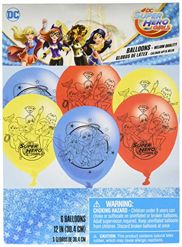 Latex Balloons | DC Super Hero Girls Collection | Party Accessory]()