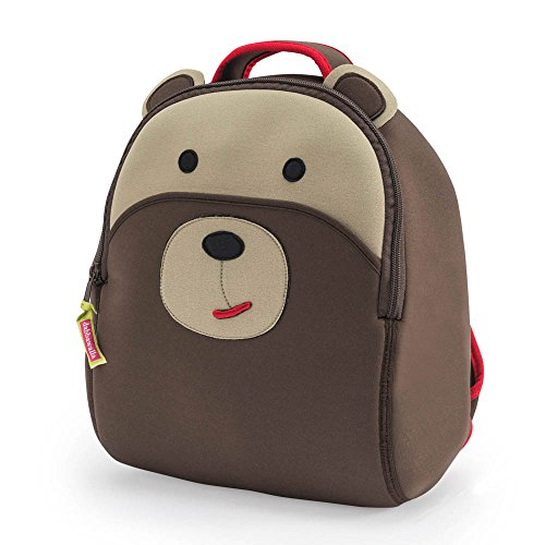 b5e3b951795e Dabbawalla Bags Preschool and Toddler Bear Backpack