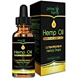 Hemp Oil for Pain Relief – Full Spectrum All-Natural Organic Blend, Supports Calming and Relaxation Rich in Omega 3 & 6 Fatty Acids, 250mg, 1oz Mint Flavored Bottle- Made In The USA Review