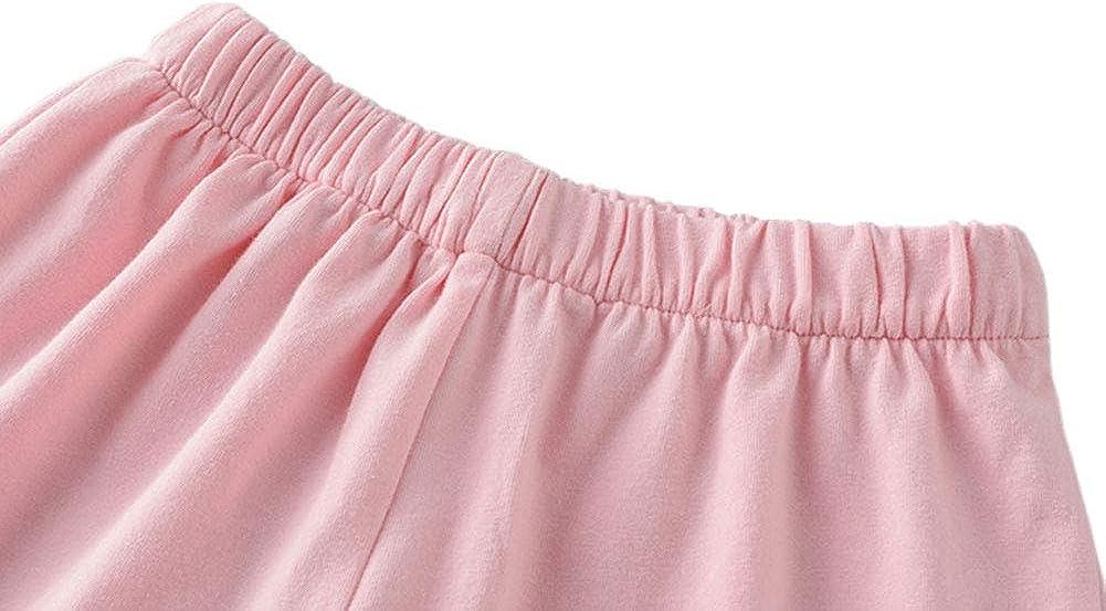 Little Kids Sleep Shirt /& Shorts 2Pcs PJ Set JWWN Toddler Boys Girls Pajamas Short Set Baby Button Down Sleepwear