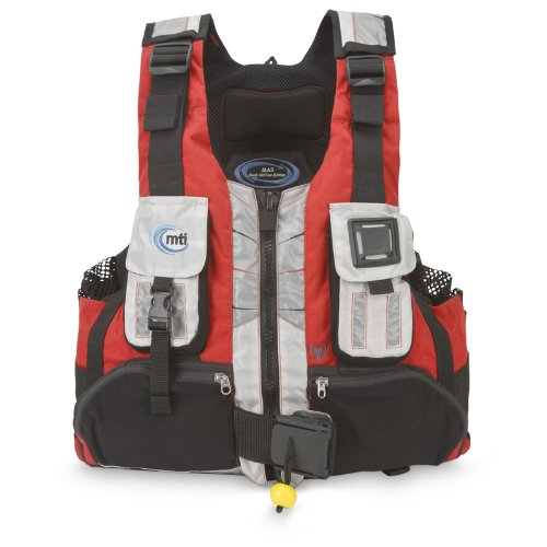 Mti Adventurewear Headwater R Spec High Buoyancy Rescue Pfd Life Jacket  Red Aluminum  X Large Xx Large