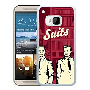 Suits Vector (2) Durable High Quality HTC ONE M9 Phone Case