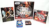 Star Wars Toy Boy's Action Scene Room Decor Activity 5pc Bundle Gift Set