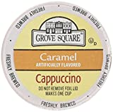 keurig cappuccino grove - Grove Square Single Serve Caramel Cappucino Single serve cup 24 Ct for Keurig Brewers